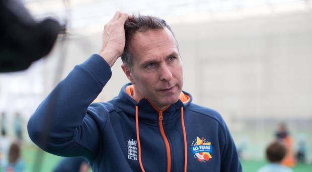Michael Vaughan, pictured, is not backing down from his criticism of Stuart Broad (Aaron Chown/PA)