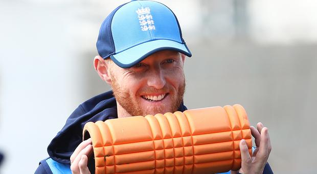 Ben Stokes has a hamstring issue (Tim Goode/PA)