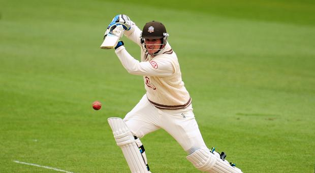 Somerset batsman Steve Davies will resume unbeaten on 59 (Adam Davy/EMPICS)