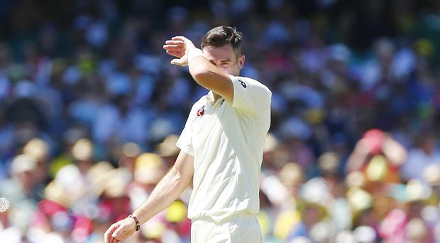 England's James Anderson is to take six weeks off to rest his shoulder (Jason O'Brien/PA)