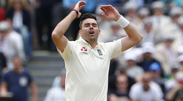 James Anderson will not play for six weeks because of a shoulder injury (Jason O'Brien/PA)