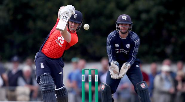Eoin Morgan admitted England did not deserve to win against Scotland (Jane Barlow/PA)