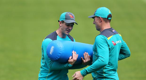 Tim Paine (left) says Australia will be judged on their actions during the upcoming ODI series (Steven Paston/PA)