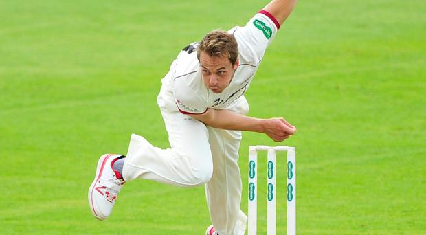 Bowler Josh Davey helped Somerset on their way to victory over Nottinghamshire at Taunton (Simon Galloway/PA)