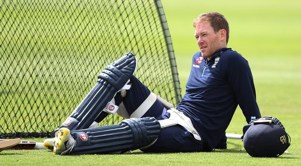 Back pain ruled Eoin Morgan out against Australia (Nick Potts/PA)