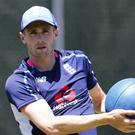 The ECB has not given any definite return date for Chris Woakes (Jason O'Brien/PA)