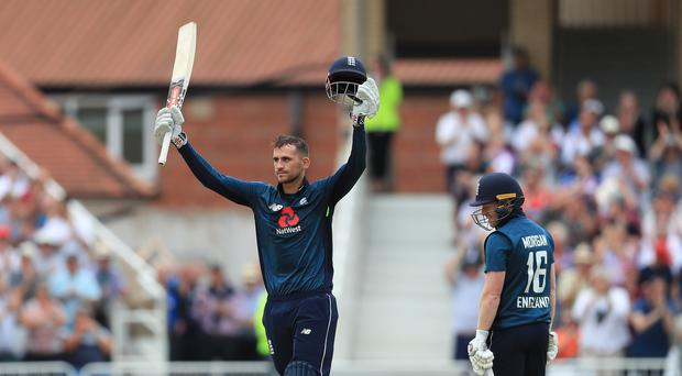 Alex Hales scored 147 runs off 92 balls against Australia at home ground Trent Bridge. (Photo - Belfast Telegraph)