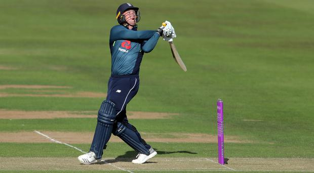 Jason Roy scored a century as England made it four straight wins against Australia (Richard Sellers/PA)