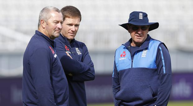 England's coaches have made some mischief (Martin Rickett/PA)