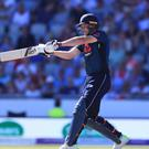 Jos Buttler fired England to victory in Manchester (Mike Egerton/PA)