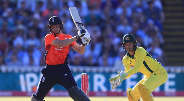 Jos Buttler was the star of the show again for England (Mike Egerton/PA)