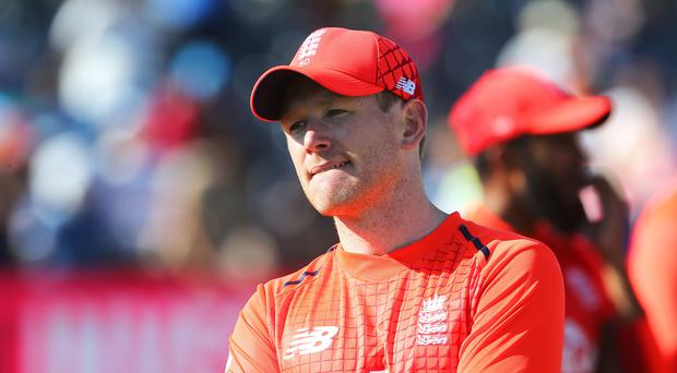 Eoin Morgan could not guide England to a series win in Bristol (Mark Kerton/PA)