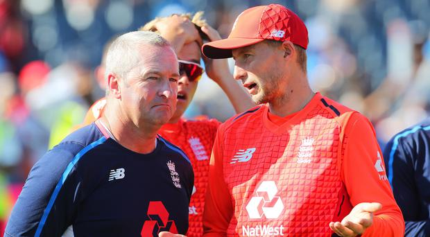 England Test captain Joe Root can learn from his limited-overs counterpart, according to coach Paul Farbrace. (Mark Kerton/PA Images)