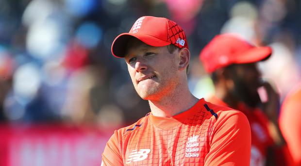 England captain Eoin Morgan is looking forward to the series decided with India (Mark Kerton/PA)