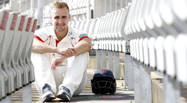 Captain Liam Livingstone helped steer Lancashire to a dramatic one-run victory over Yorkshire (Martin Rickett/PA)