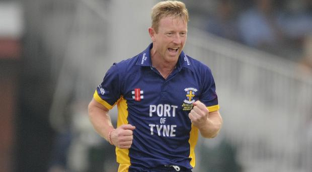 Paul Collingwood helped Durham to victory (Jon Buckle/PA)