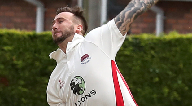 Familiar face: Waringstown ace Phil Eaglestone will come up against former side Strabane in the Irish Cup semi-finals