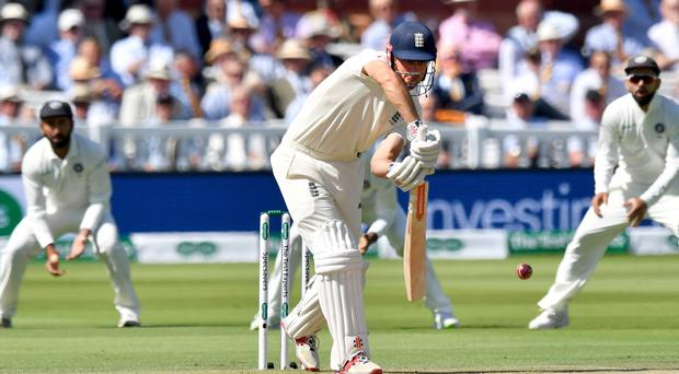 England opener Alastair Cook was caught off the bowling of Ishant Sharma, Anthony Devlin/PA