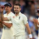 James Anderson will look to add to his wicket tally at Trent Bridge (Adam Davy/PA)