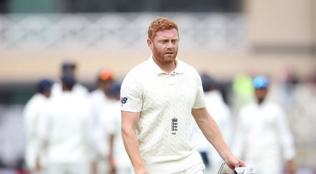England will hope Jonny Bairstow is fit enough to play (Tim Goode/PA)