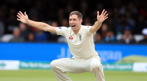 Chris Woakes is back in the England fold (Adam Davy/PA)