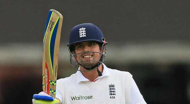 Alastair Cook will bow out of international cricket after England's final Test against India (Nigel French/PA)
