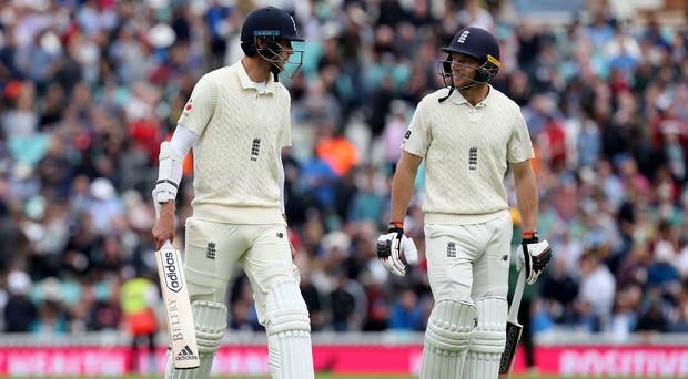 Jos Buttler (89) and Stuart Broad (38) added 98 runs for the 9th wicket against India at the Oval (photo - Belfast Telegraph)