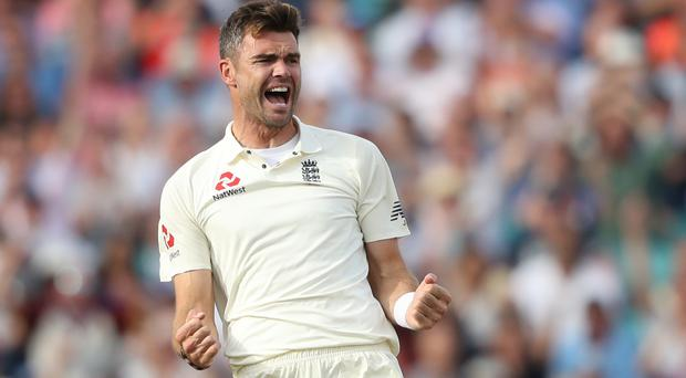 James Anderson is Test cricket's most prolific fast bowler (Adam Davy/PA)