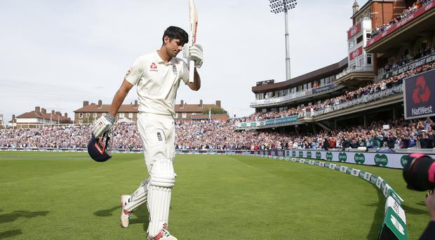 Alastair Cook has waved goodbye to international cricket (Adam Davy/PA)