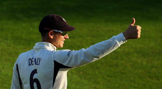 Joe Denly is hoping to make an impact with England in Sri Lanka (Gareth Fuller/PA).