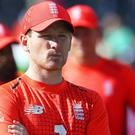 Eoin Morgan will not paper over the cracks of England's defeat (Mark Kerton/PA)