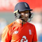 Jos Buttler was stand-in captain as England succumbed to their heaviest ODI defeat in terms of runs (Martin Rickett/PA)