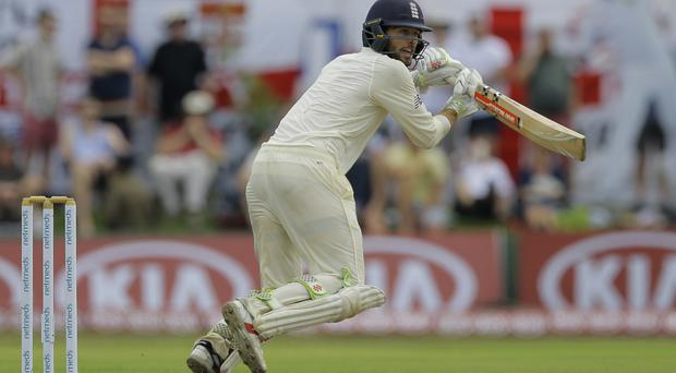 Ben Foakes impressed on Test debut for England (Eranga Jayawardena/AP)