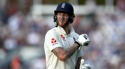 Ben Stokes will move up the order in the second Test against Sri Lanka (John Walton/PA)