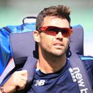 James Anderson was referred to by his first name on the scoreboard in Kandy (Adam Davy/PA)