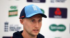 File photo dated 29-08-2018 of England's captain Joe Root.