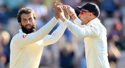 Moeen Ali took the key scalp of Niroshan Dickwella to help England to victory (Adam Davy/PA)