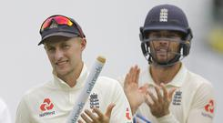 Joe Root's England have already wrapped up the series against Sri Lanka with a Test to spare (Eranga Jayawardena/AP).