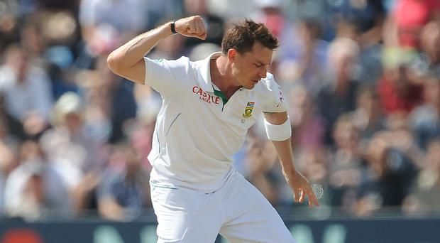 Dale Steyn has become South Africa's all-time leading wicket taker in Test cricket (PA)