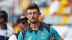 Bancroft will line up for the Perth Scorchers (Jason O'Brien/PA)