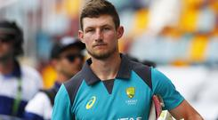 Cameron Bancroft's 59 included four fours and two sixes (Jason O'Brien/PA)