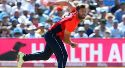 Liam Plunkett's four wickets were not enough for Melbourne Stars (Mark Kerton/PA)