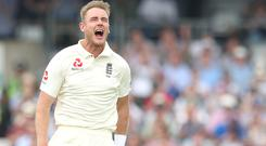 Stuart Broad was in great form in the Caribbean (Martin Rickett/PA)