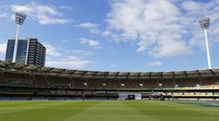 The Gabba suffered a powercut in the Big Bash League (Jason O'Brien/PA)