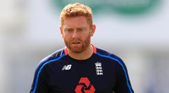 Jonny Bairstow made 98 as England geared up for the first Test against the West Indies (Mike Egerton/PA).