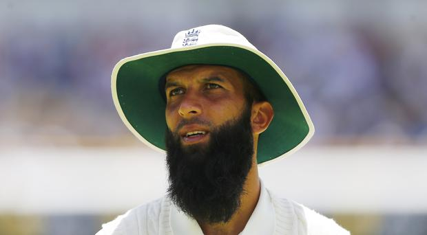 Moeen Ali claimed the only wicket of the morning session (Jason O'Brien/PA)