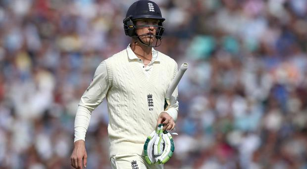 Keaton Jennings is out of England's 12-man squad for the second Test (John Walton/PA)
