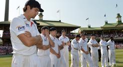 England were whitewashed in the 2013/14 Ashes (Anthony Devlin/PA)