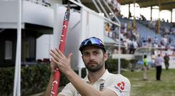 Mark Wood's blistering pace caused West Indies problems (Ricardo Mazalan/AP)