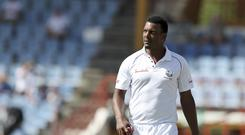 Shannon Gabriel has offered an explanation for his exchange with Joe Root in the third Test. (Ricardo Mazalan/AP)
